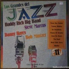 Discos de vinilo: LOS GRANDES DEL JAZZ. GRAN ENCICLOPEDIA DEL JAZZ SARPE, Nº 11. 1980.. Lote 190925822