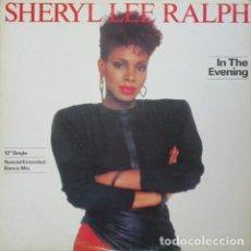 Discos de vinilo: SHERYL LEE RALPH – IN THE EVENING. Lote 190927507