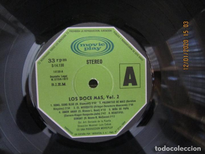 Discos de vinilo: LOS 12 + VOL. 2 LP - ORIGINAL ESPAÑOL - MOVIEPLAY RECORDS 1973 - ESTEREO - - Foto 8 - 190928005