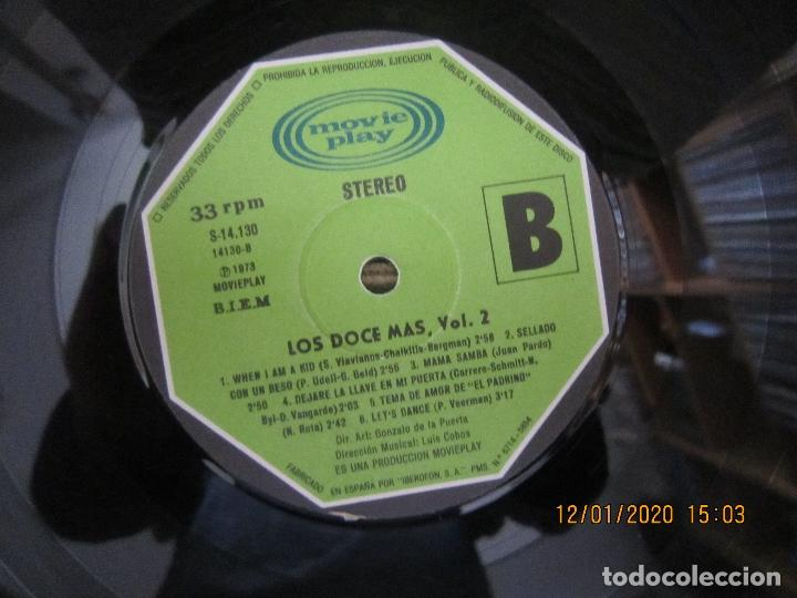 Discos de vinilo: LOS 12 + VOL. 2 LP - ORIGINAL ESPAÑOL - MOVIEPLAY RECORDS 1973 - ESTEREO - - Foto 10 - 190928005