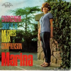 Discos de vinilo: MARINA - CARTAGENERA - SNOB YE YE + 2 - EP SPAIN 1965. Lote 190935156