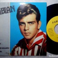 Discos de vinilo: FABIAN - TIGER - EP 1992 - EL COCODRILO. Lote 190977202