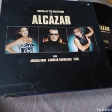 Discos de vinilo: CRYING AT THE DISCOTEQUE BY ALCAZAR. Lote 190979736