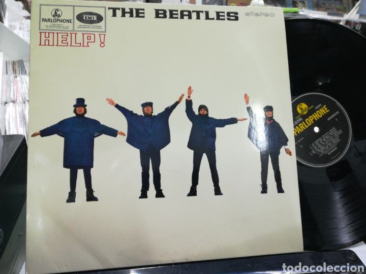 THE BEATLES LP HELP! 2012 (Música - Discos - LP Vinilo - Pop - Rock Extranjero de los 50 y 60)