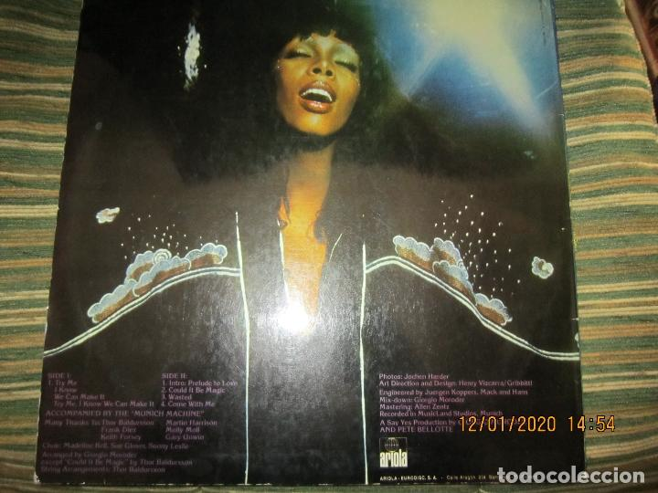 Discos de vinilo: DONNA SUMMER - A LOVE TRILOGY LP - ORIGINAL ESPAÑOL - ARIOLA RECORDS 1976 - - Foto 2 - 190996938