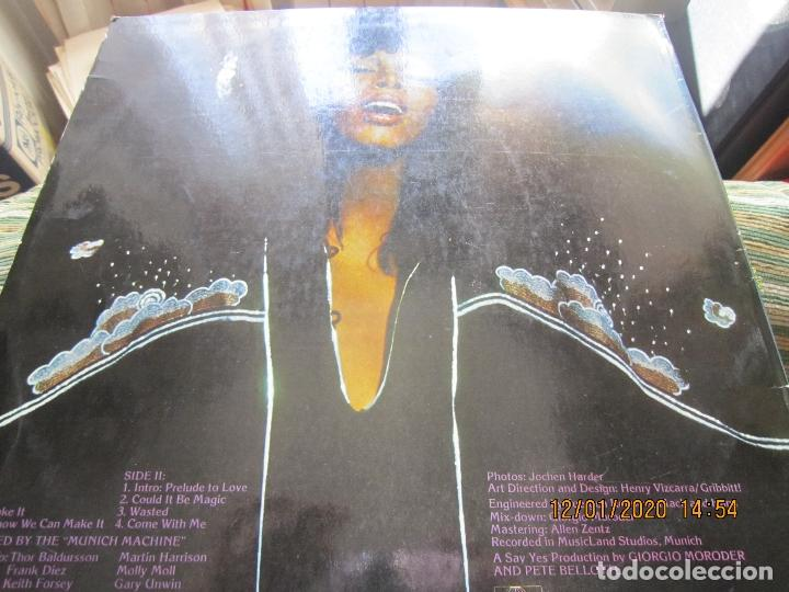 Discos de vinilo: DONNA SUMMER - A LOVE TRILOGY LP - ORIGINAL ESPAÑOL - ARIOLA RECORDS 1976 - - Foto 4 - 190996938