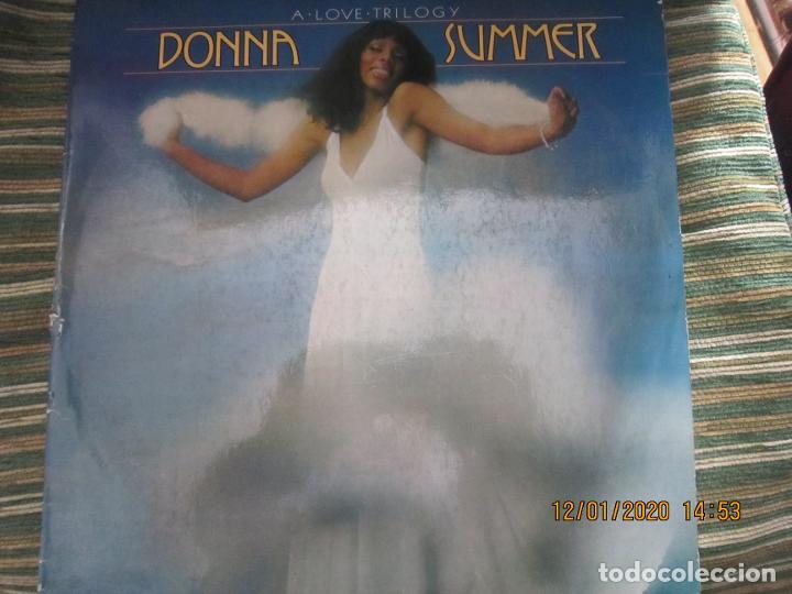 Discos de vinilo: DONNA SUMMER - A LOVE TRILOGY LP - ORIGINAL ESPAÑOL - ARIOLA RECORDS 1976 - - Foto 11 - 190996938