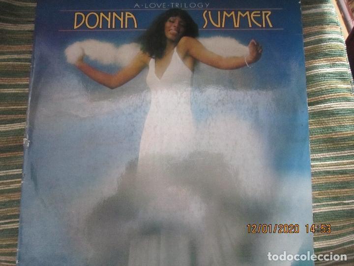 DONNA SUMMER - A LOVE TRILOGY LP - ORIGINAL ESPAÑOL - ARIOLA RECORDS 1976 - (Música - Discos - LP Vinilo - Funk, Soul y Black Music)