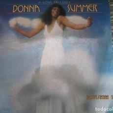 Discos de vinilo: DONNA SUMMER - A LOVE TRILOGY LP - ORIGINAL ESPAÑOL - ARIOLA RECORDS 1976 - . Lote 190996938