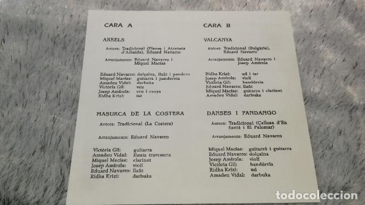 Discos de vinilo: RITME TRENCAT - ARRELS, MASURCA DE LA COSTERA, VALCANYA ,ETC.MEGA RITME 1992 NUEVO!!! - Foto 5 - 191006208