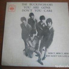 Discos de vinilo: THE BUCKINGHAMS - DON'T YOU CARE + 3 ******** RARO EP PORTUGUÉS MOD BLUE EYED SOUL. Lote 191013791
