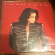 Discos de vinilo: MICHAEL JACKSON ?– WILL YOU BE THERE. Lote 181933781