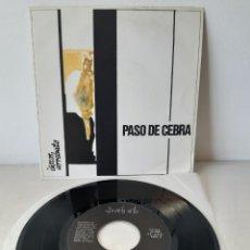 Discos de vinilo: PASO DE CEBRA. NOCHE GRIS/DIME QUIEN SOY/NO REGRESARÉ. DISCOS ARREBATO. SPAIN. Lote 191030698