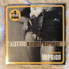 Discos de vinilo: KID LOCO - KILL YOUR DARLINGS - INSTRUMENTAL VERSION - LP DOBLE ROYAL BELLEVILLE 2002 NUEVO. Lote 191035628