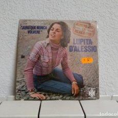 Discos de vinilo: LUPITA . Lote 191039801