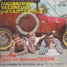 Discos de vinilo: LOS CHIRIPITIFLAUTICOS - CANTAN PARA LOS SEÑORES CHICOS - EP DE VINILO. Lote 191042235