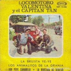 Discos de vinilo: LOS CHIRIPITIFLAUTICOS - LA BRUJITA YE YE - EP DE VINILO. Lote 191042281
