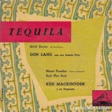 Discos de vinilo: DON LANG - WITCH DOCTOR / KEN MACKINTOSH - ROCK MAN ROCK - EP DE VINILO EDICION ESPAÑOLA . Lote 191043812