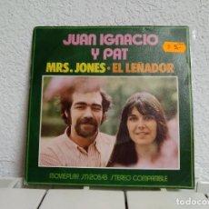 Discos de vinilo: JUAN IGNACIO Y PAT. Lote 191044517