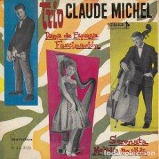 Discos de vinilo: TRIO CLAUDE MICHEL - DAMA DE ESPAÑA - EP DE VINILO EDICION ESPAÑOLA - HARPA. Lote 191045017