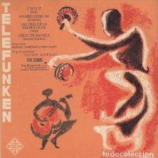 Discos de vinilo: VIRGINIE MORGAN / JERRY MENGO / IVON LAIN / NOEL CHIBOUST - EP DE VINILO EDICION ESPAÑOLA TELEFUNKEN. Lote 191045583