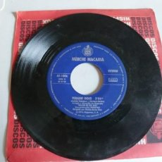 Discos de vinilo: MERCHE MACARIA-SINGLE ROMANCE DE MARIA PUEBLO. Lote 191045607