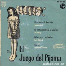 Discos de vinilo: JOHNNIE RAY JIMMY CARROLL GUY MITCHEL ROSEMARY CLOONEY - EP DE VINILO COMPARTIDO EDICION ESPAÑOLA. Lote 191046495
