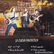 Disques de vinyle: CAPITAN CAVERNICOLA BLUES BAND - LA CUEVA FANTASTICA - EP DE VINILO EN DIRECTO. Lote 191047135