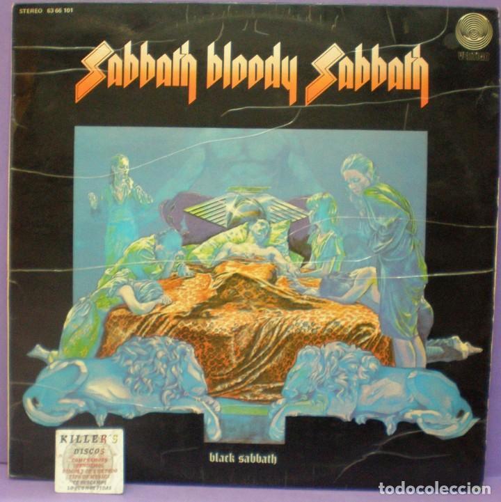 BLACK SABBATH - SABBATH BLOODY SABBATH - LP EDICIÓN ESPAÑOLA 1974 (Música - Discos - LP Vinilo - Heavy - Metal)