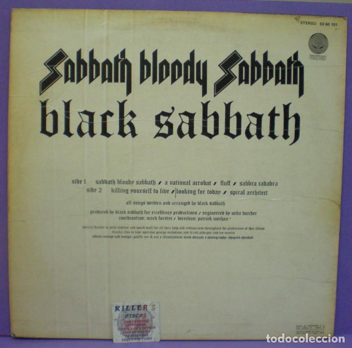 Discos de vinilo: Black Sabbath - Sabbath Bloody Sabbath - LP Edición española 1974 - Foto 2 - 191056428