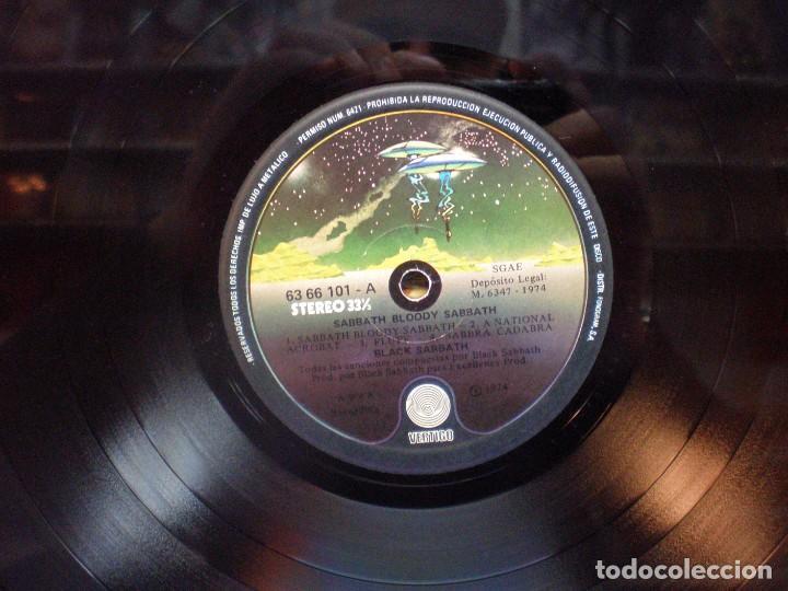 Discos de vinilo: Black Sabbath - Sabbath Bloody Sabbath - LP Edición española 1974 - Foto 3 - 191056428