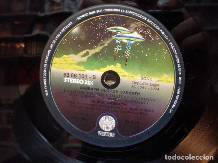 Discos de vinilo: Black Sabbath - Sabbath Bloody Sabbath - LP Edición española 1974 - Foto 4 - 191056428