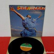 Discos de vinilo: STEVE ARRINGTON - DANCIN IN THE KEY OF LIFE -LP- ATLANTIC 1985 SPAIN 78 1245-1 PROMO - VINILO N MINT. Lote 191057540