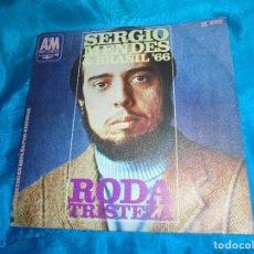 Discos de vinilo: SERGIO MENDES & BRASIL´66.RODA / TRISTEZA. A & M RECORDS, 1968 (#). Lote 191057541