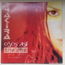Discos de vinilo: SHAKIRA MAXI VINILO - OJOS ASI / 4 TEMAS - 2 DE ELLOS MIXES - MUY RARO / FABRICADO EN HOLANDA 1999. Lote 191062078