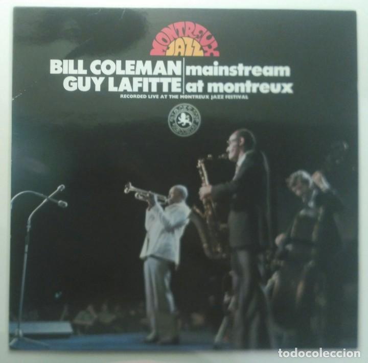BILL COLEMAN & GUY LAFITTE – MAINSTREAM AT MONTREUX UK 1973 BLACK LION RECORDS (Música - Discos - LP Vinilo - Jazz, Jazz-Rock, Blues y R&B)