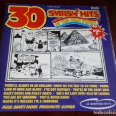 Dischi in vinile: 30 SMASH HITS OF THE WAR YEARS - VOL.2 - LP - 1975. Lote 191070802