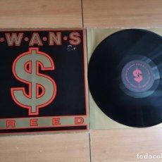 Discos de vinilo: SWANS – GREED VINILO LP ROCK INDUSTRIAL, EXPERIMENTAL. Lote 191079381