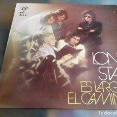 Discos de vinilo: LONE STAR - ES LARGO EL CAMINO -,LP, NATHALIE + 7, AÑO 1972. Lote 191080761