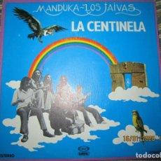 Discos de vinilo: MANDUKA LOS JAIVAS - LA CENTINELA SINGLE ORIGINAL ESPAÑOL - MOVIEPLAY GONG 1979 PROMOCIONAL. Lote 191082732