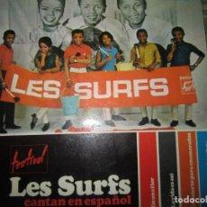 Discos de vinilo: LES SURFS CANTAN EN ESPAÑOL EP - ORIGINAL ESPAÑOL - HISPAVOX 1966 - MONOAURAL -. Lote 191084236