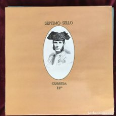 Discos de vinilo: SÉPTIMO SELLO - CORRIDA - 12'' MAXISINGLE TWINS 1986. Lote 191086431
