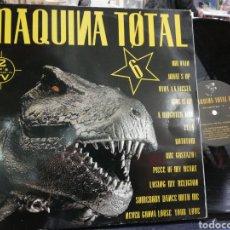 Discos de vinilo: MÁQUINA TOTAL DOBLE LP 1993 CARPETA DOBLE. Lote 191092513