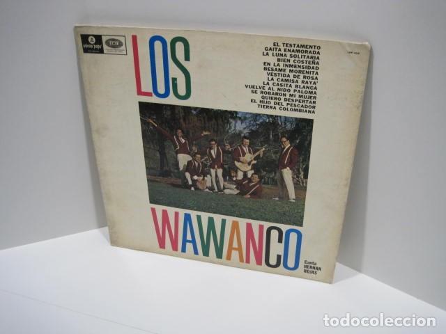 LP VINILO LOS WAWANCO. CANTA HERNÁN ROJAS. 14 CANCIONES. BESAME MORENITA, LA CAMISA BLANCA. (Música - Discos de Vinilo - Maxi Singles - Grupos y Solistas de latinoamérica)