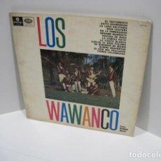 Discos de vinilo: LP VINILO LOS WAWANCO. CANTA HERNÁN ROJAS. 14 CANCIONES. BESAME MORENITA, LA CAMISA BLANCA.. Lote 191093210