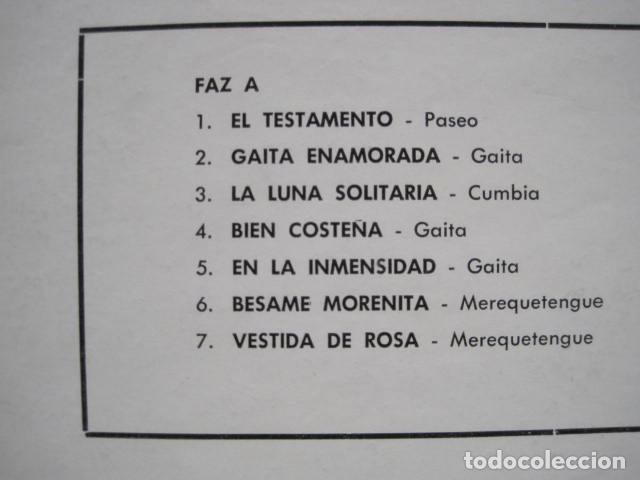 Discos de vinilo: LP VINILO LOS WAWANCO. CANTA HERNÁN ROJAS. 14 CANCIONES. BESAME MORENITA, LA CAMISA BLANCA. - Foto 3 - 191093210