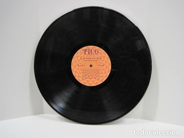 Discos de vinilo: LP VINILO EL REY BRAVO, TITO PUENTE. 11 CANCIONES. OYE COMO VA, AFRICA HABLA, TOKIO DE NOCHE. - Foto 4 - 191096756