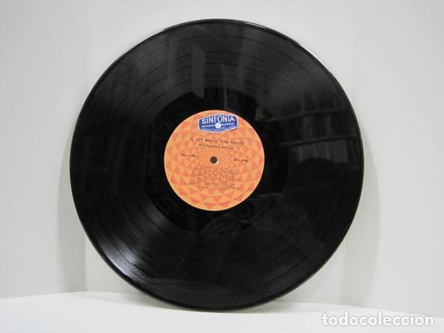 Discos de vinilo: LP VINILO EL REY BRAVO, TITO PUENTE. 11 CANCIONES. OYE COMO VA, AFRICA HABLA, TOKIO DE NOCHE. - Foto 5 - 191096756
