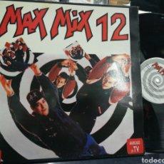 Discos de vinilo: MAX MIX 12 DOBLE LP CARPETA DOBLE 1992. Lote 191105417
