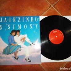 Discos de vinilo: JAIRZINHO Y SIMONY EL AMOR NO TIENE EDAD LP VINILO 1987 CBS PATXI ANDION JOSE LUIS PERALES 11 TEMAS. Lote 191106872